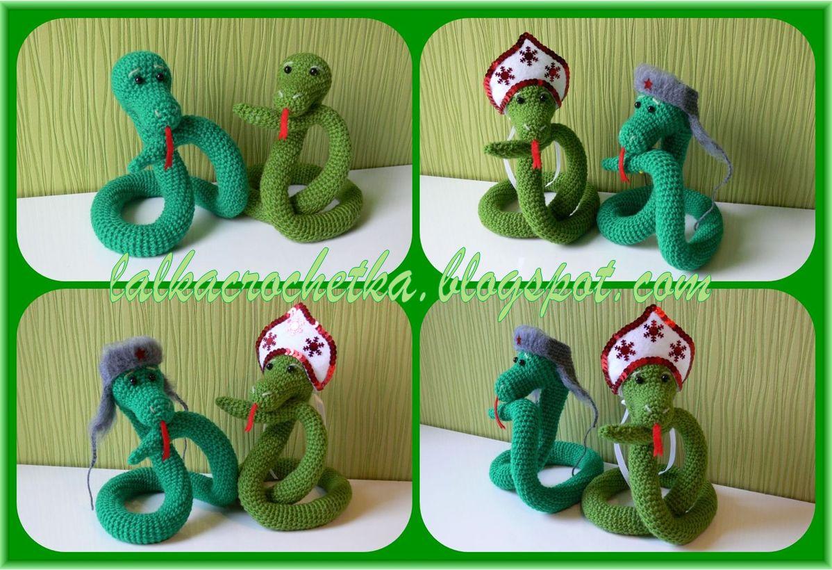 crochet snake