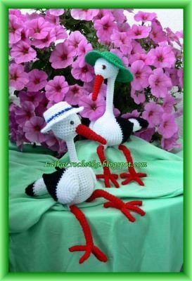 http://lalkacrochetka.blogspot.com/2014/07/bociania-para-stork-couple.html