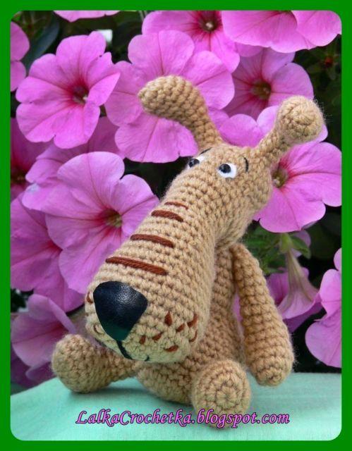http://lalkacrochetka.blogspot.com/2015/06/dog-lucky-psiak-szczesciarz.html
