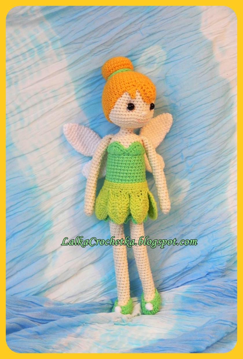 http://lalkacrochetka.blogspot.com/2015/11/tinkerbell-fairy-doll-lalka-wrozka.html