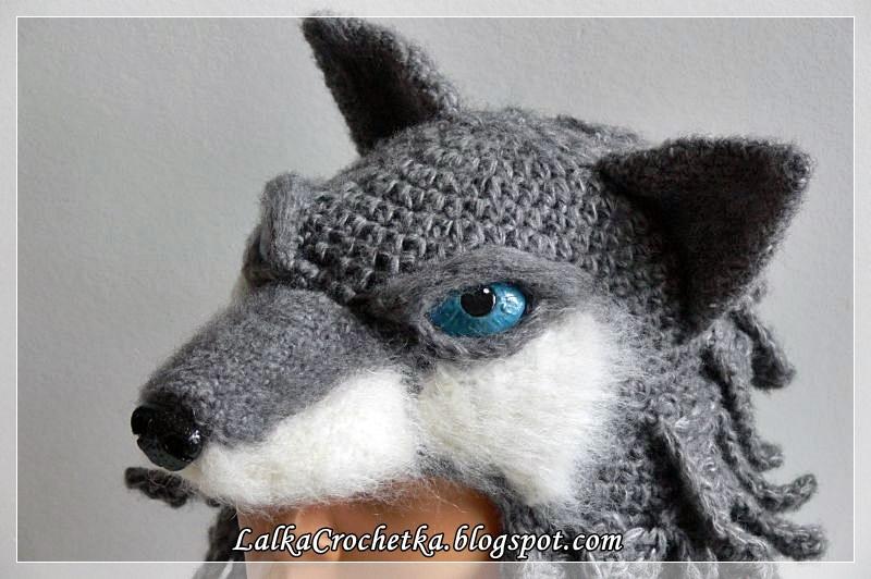 http://lalkacrochetka.blogspot.com/2017/01/wolf-hat-wilcza-czapka.html