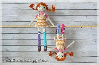 http://lalkacrochetka.blogspot.com/2017/03/pippi-dolls-lalki-pippi.html