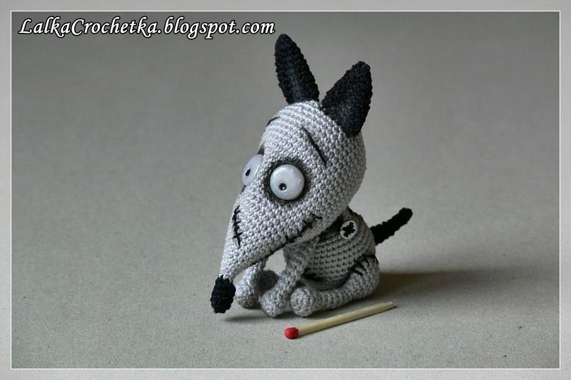 http://lalkacrochetka.blogspot.com/2017/10/sparky-dog-frankenweenie-piesek-sparky.html