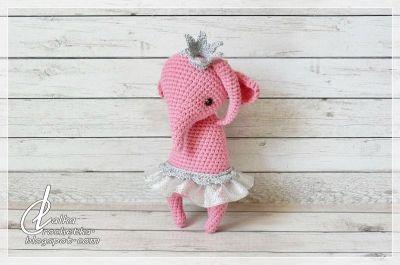 http://lalkacrochetka.blogspot.com/2017/11/elephant-pink-princess-soninka-rozowa.html