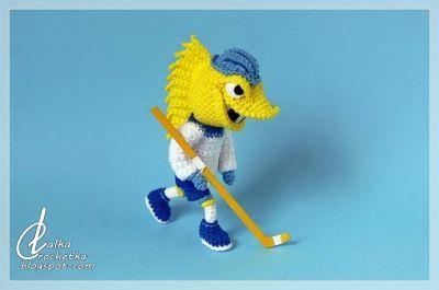 http://lalkacrochetka.blogspot.com/2019/06/toledo-walleye-hockey-team-mascot.html